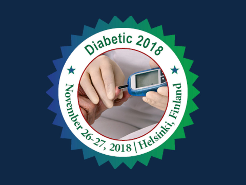 Diabetes and Healthcare Conference, November 26-27, 2018 | Helsinki, Finland