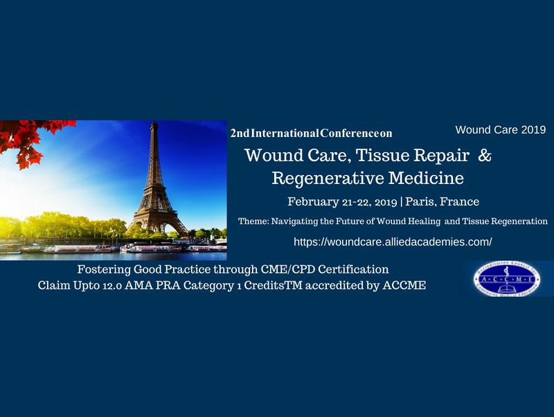 Wound Care, Tissue Repair and Regenerative Medicine
