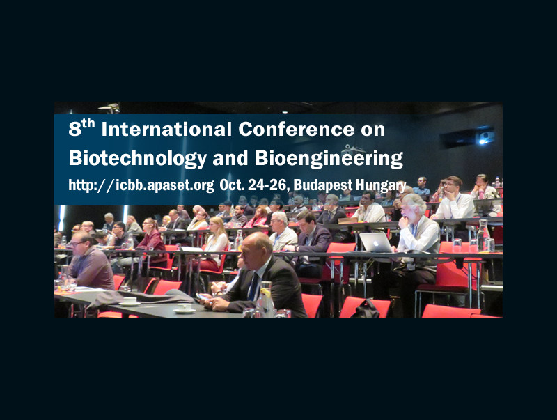 Biotechnology and Bioengineering Conference 2018