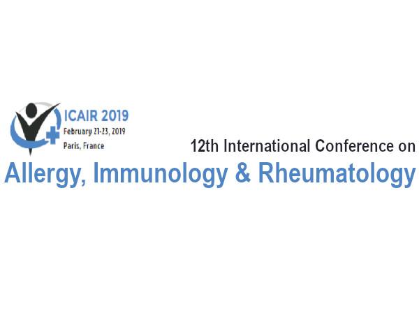 Allergy, Immunology & Rheumatology Conference