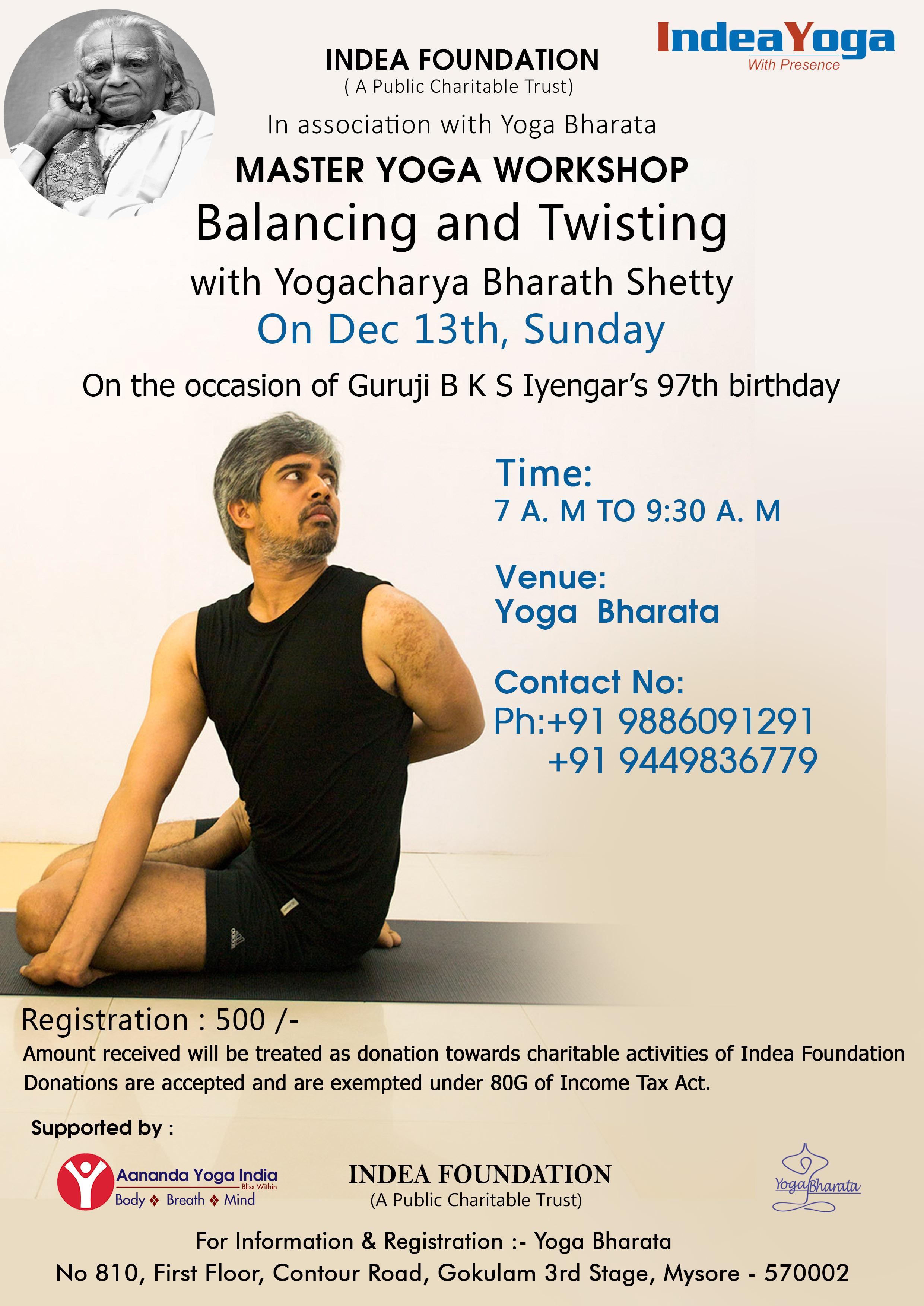 Master Yoga Workshop